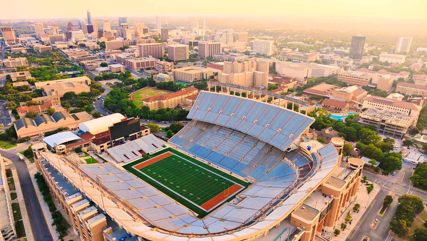 university Texas Longhorns football stadium