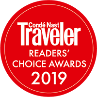 Conde Nast Traveler Reader's Choice Award