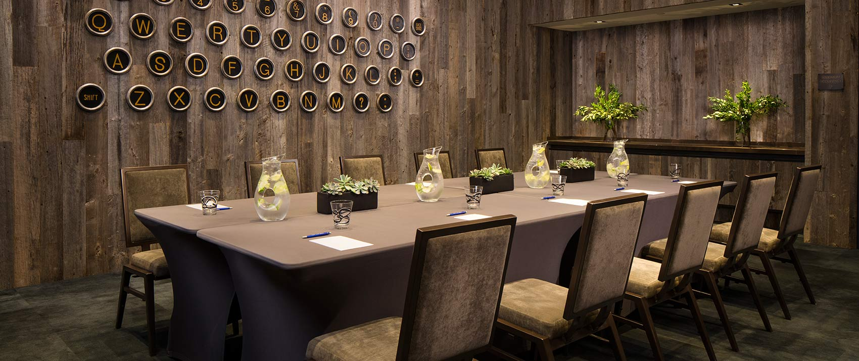 Meeting Room Amp Event Space Kimpton Hotel Van Zandt